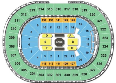 TD Garden UFC Seating Chart