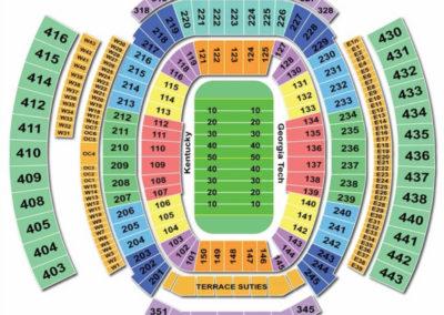 TIAA Bank Field Football Seating Chart