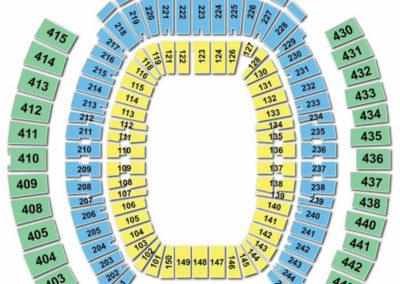 TIAA Bank Field Seating Chart Concert