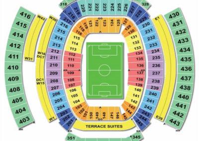 TIAA Bank Field Seating Chart Soccer