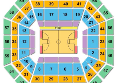 Taco Bell Arena Seating Chart Basketball