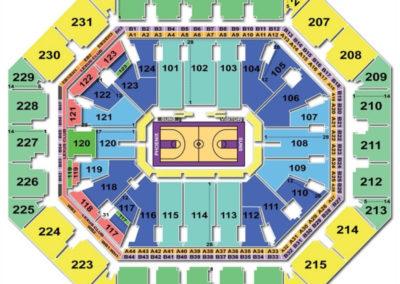 Talking Stick Resort Arena Basketball Seating Chart