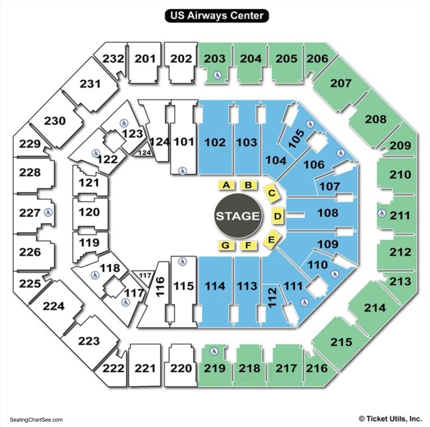 Talking Stick Resort Arena Cirque Seating Chart
