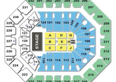 Talking Stick Resort Arena Concert Seating Chart