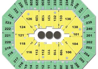 Target Center Seating Chart Circus