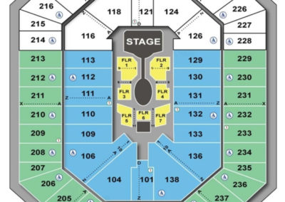 Target Center Cirque Seating Chart