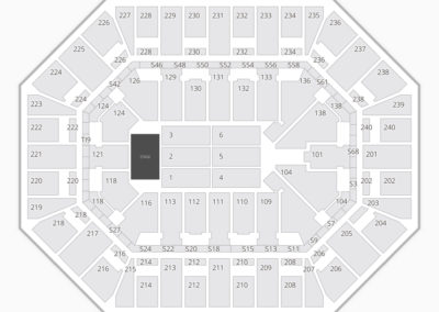 Target Center Concert Seating Chart