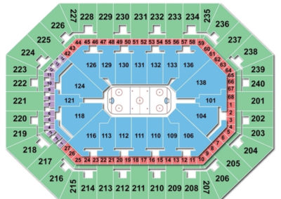 Target Center Seating Chart Hockey