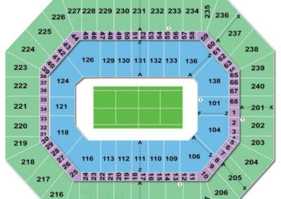 Target Center Seating Chart Tennis