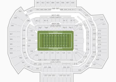 Texas A&M Aggies Football Seating Chart