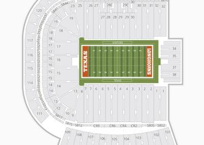 Texas Longhorns Football Seating Chart
