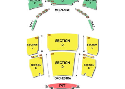 The Bushnell Seating Chart Broadway Tickets National