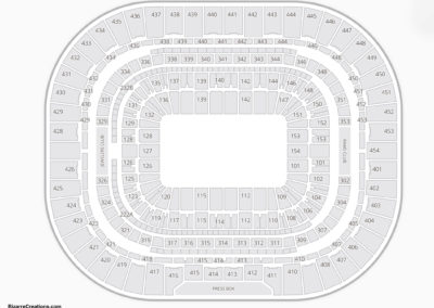 The Dome at America's Center Seating Chart Auto Racing