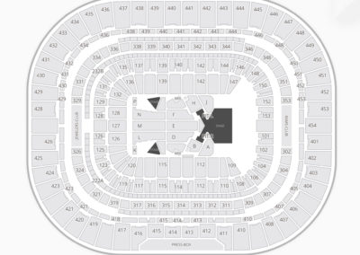 The Dome at America's Center Seating Chart Concert