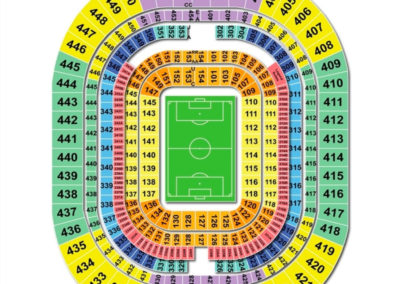 The Dome at America's Center Seating Chart Soccer
