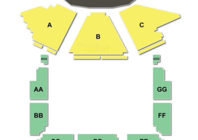 The Luther Burbank Center for the Arts - Wells Fargo Center for the Arts Seating Chart