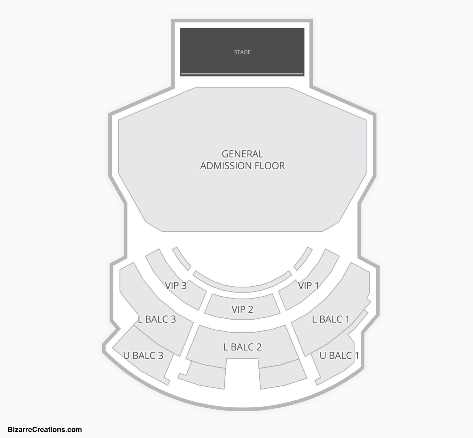The Novo Seating Chart