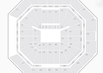 The Pete Center Seating Chart
