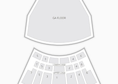 The Warfield Theatre Seating Chart