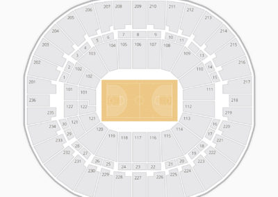 Thomas & Mack Center Seating Chart NBA