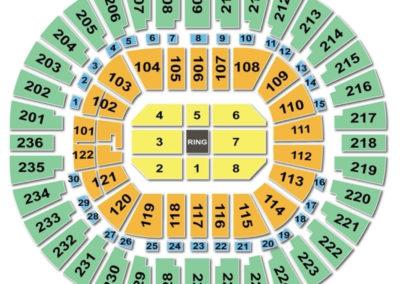 Thomas and Mack Center Seating Chart Boxing
