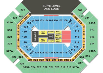 Thompson Boling Arena WWE Seating Chart
