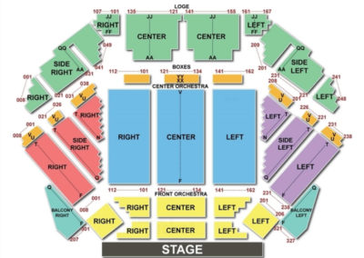 Tilles Center for the Performing Arts Seating Chart