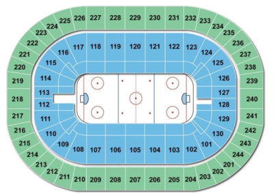 Times Union Center Hockey Seating Chart