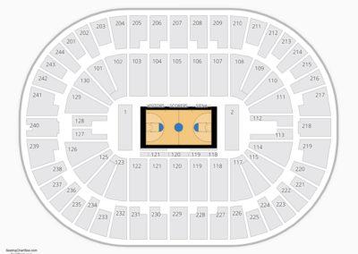 Times Union Center Seating Chart NCAA Basketball