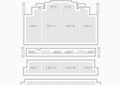 Tivoli Seating Chart Chattanooga