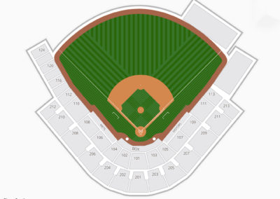 Tradition Field Seating Chart - First Data Field