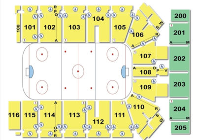 Tyson Events Center Seating Chart Hockey
