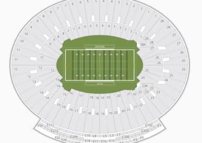 UCLA Bruins Football Seating Chart