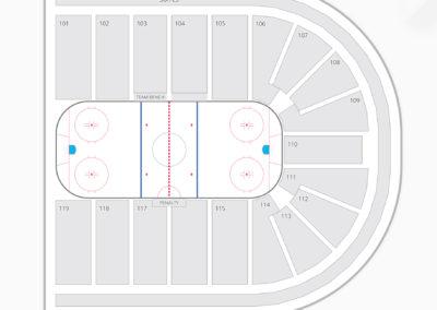 US Hockey Hall of Fame Game Seating Chart