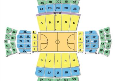 Vanderbilt Memorial Gymnasium Seating Chart