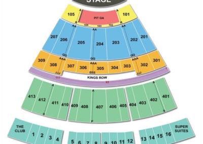Verizon Theatre at Grand Prairie Seating Chart TX