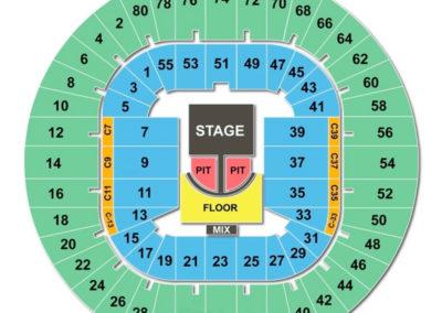 WVU Coliseum Concert Seating Chart