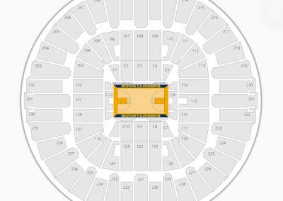 WVU Coliseum Seating Chart
