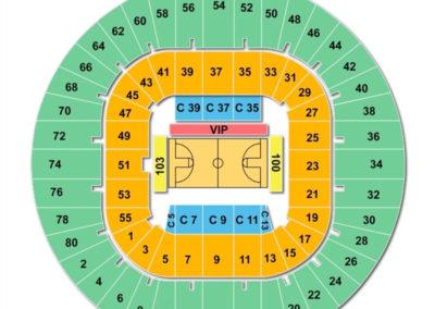 WVU Coliseum Seating Chart Basketball