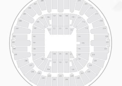WVU Coliseum Seating Chart Concert