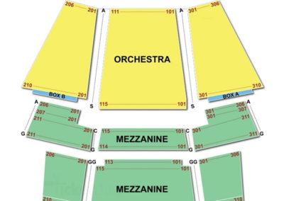 Walnut Street Theatre Seating Chart Concert