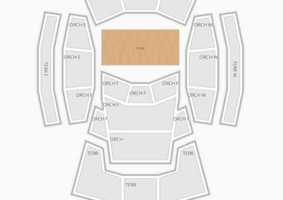 Walt Disney Concert Hall Seating Chart Concert