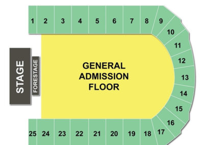War Memorial At OnCenter Seating Chart Concert