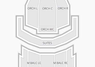 Warner Theatre Washington Seating Chart
