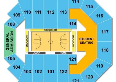 Watsco Center Seating Chart - Basketball