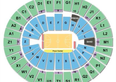Wells Fargo Arena Tempe Basketball Seating Chart