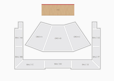 Wells Fargo Center for the Arts - The Luther Burbank Center for the Arts Seating Chart