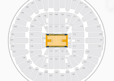 West Virginia Mountaineers Basketball Seating Chart