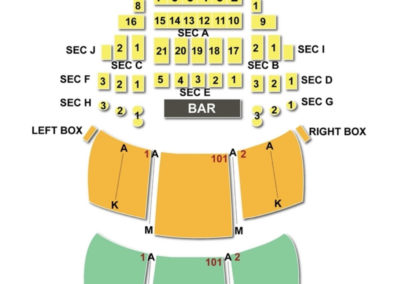 Wilbur Theatre Seating Chart Boston