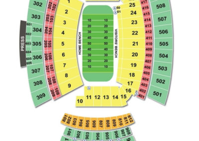 Williams-Brice Stadium Seating Chart
